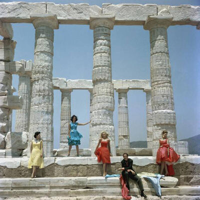 Slim Aarons, 'Dimitris Kritsas', 1967