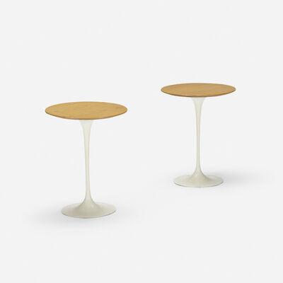 Eero Saarinen, 'occasional tables model 163W, pair', 1957