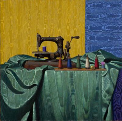 Daniel Greene, 'Antique Sewing Machine & Moire', 2013