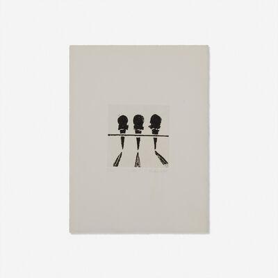 Wayne Thiebaud, 'Cones', 1964