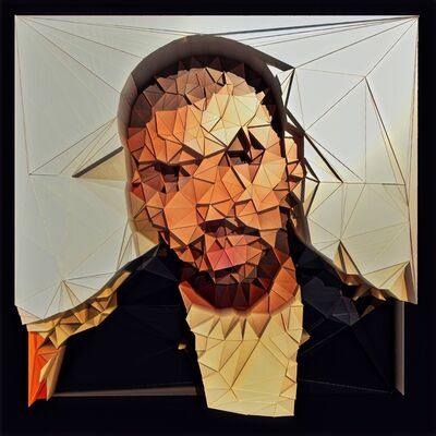 Alexander van Glitch, 'Study for a portrait of Drake', 2019