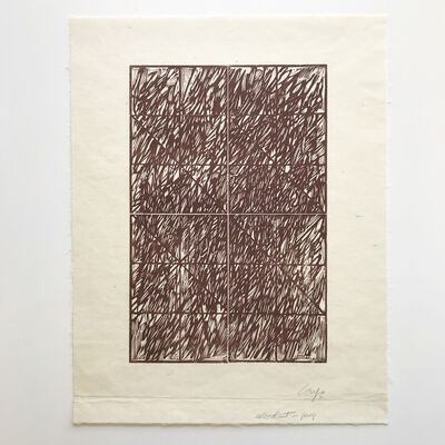 Vincent Longo, 'Untitled (Woodcut Proof)', 2011