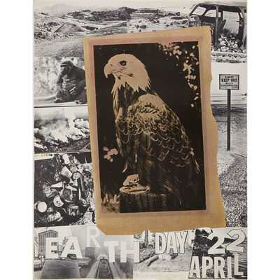 After Robert Rauschenberg, 'Earth Day April 22, 1970 (Poster)', 1970