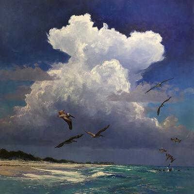 Billy Solitario, 'Storm over Emerald Waters'