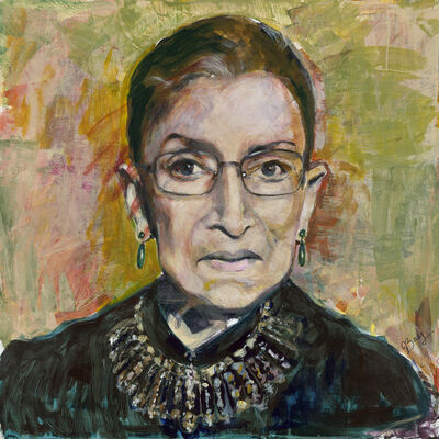 Joan Baez, 'The Glorious Notorious RBG', 2018