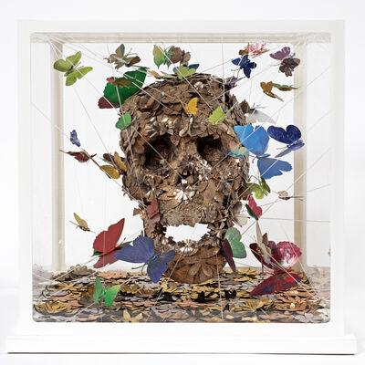 Jacky Tsai, 'Open Your Mind Skullpture III', 2015