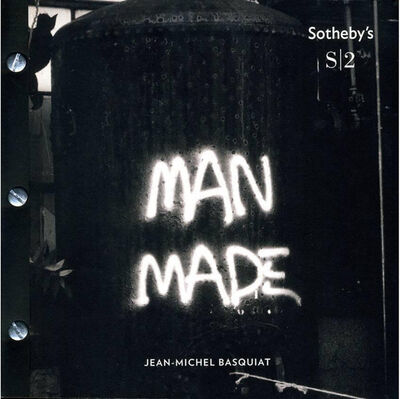 Jean-Michel Basquiat, 'Basquiat Sotheby's Man Made catalog ', 2013