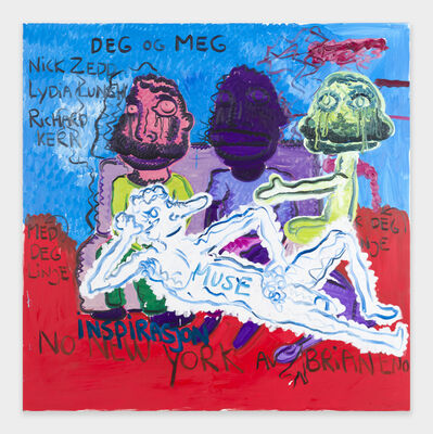 Bjarne Melgaard, 'You and Me Inspiration', 2018