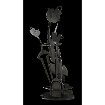 Albert Paley, 'Three-piece Fabricated fireplace tool set, Rochester, NY', 1996