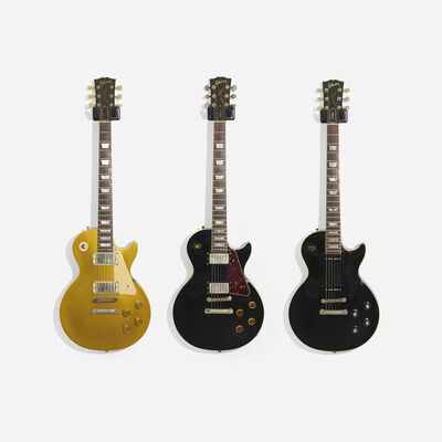 Gibson, 'Les Paul Electric Guitars, Set of Three'