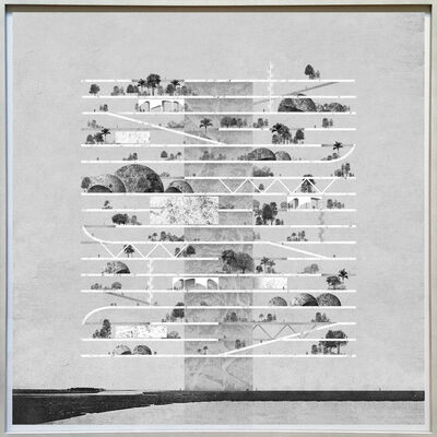 Miles Gertler, 'Seven, Hanging Gardens', 2015