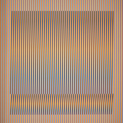Carlos Cruz-Diez, 'Induction Chromatique a double frequence Orinoco 1', 2018