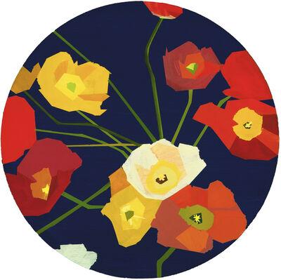 Greta Van Campen, 'Poppies and Anemones', 2020