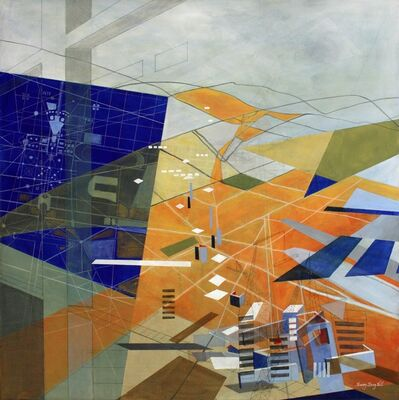 Sherry Tseng Hill, 'Making Medium Spaces - spatial, geometric, architectural', 2013