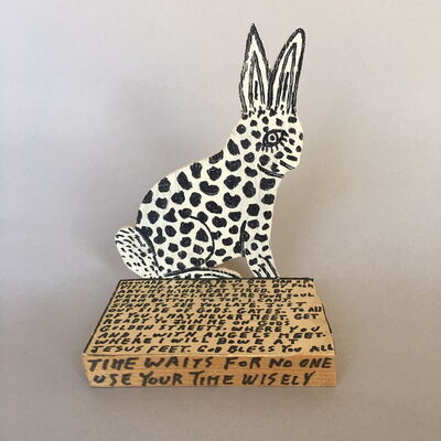 Howard Finster, 'Untitled (Rabbit)', 1989