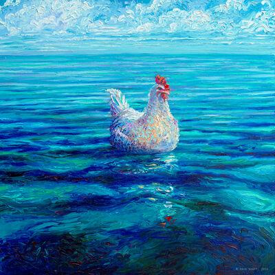 Iris Scott, 'Chicken of the Sea (Embellished Artist's Proof)', 2018