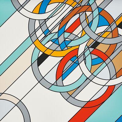 Sarah Morris, 'Rings', 2009