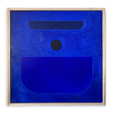 Carla Weeks, 'Monochrome Study in Cobalt', 2020