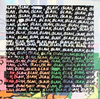 Mel Bochner, 'Blah Blah Blah + Background Noise #35', 2013