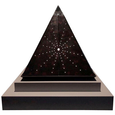 Óscar Tusquets Blanca, 'Oscar Tusquets Contemporary Leather Starry Pyramid Limited Edition', 2018