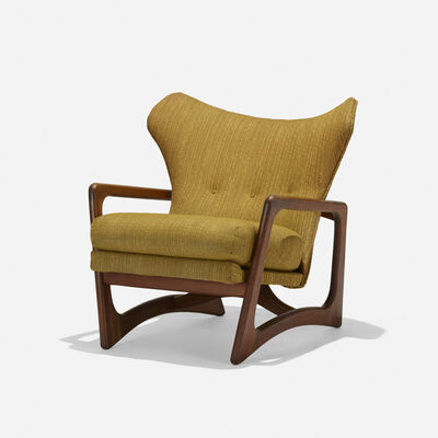 Adrian Pearsall, 'lounge chair, model 2466C', c. 1960