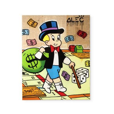 Alec Monopoly, 'Richie Plays Monopoly', 2019