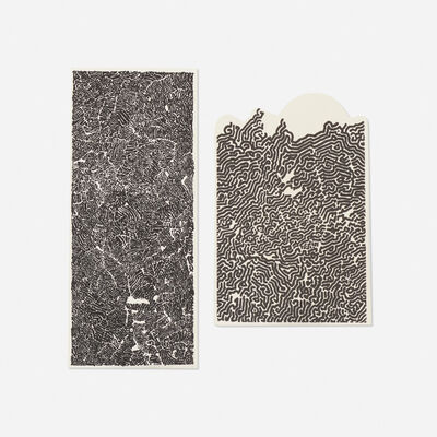 Bruce Conner, '#212 and #102 (two works)', c. 1970