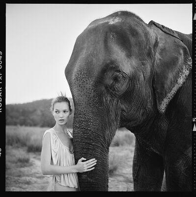 Arthur Elgort, 'Kate Moss, Nepal, British Vogue ', 1993