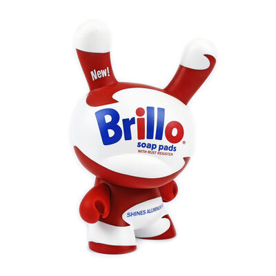 """Andy Warhol, '""""White Brillo Dunny"""" - produced by Kidrobot with Andy Warhol design ', N/A"""