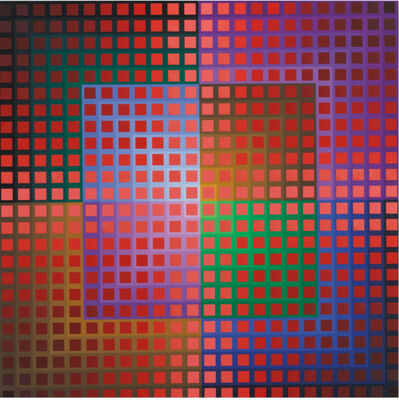 Victor Vasarely, 'Koentoesh', 1974