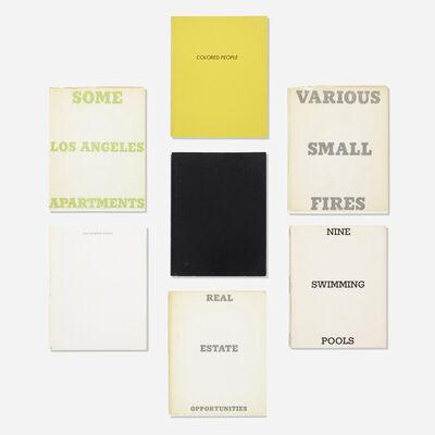 Ed Ruscha, 'Artist books, collection of seven', 1964-1976