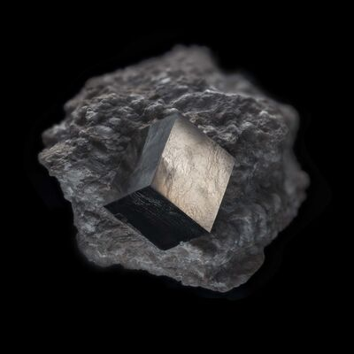 Christian Houge, 'Pyrite Cube, 2016', 2016