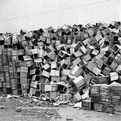 Vivian Maier, '0114474 –Stacks of Boxes', 2013