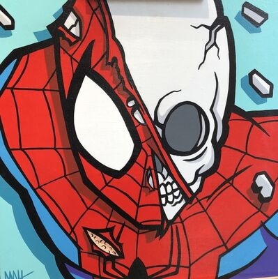 Matt Gondek, 'Original Painting Spider-Man', 2016