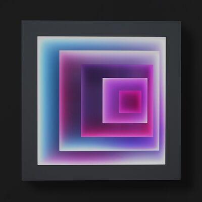 Craig Dorety, 'Offset Squares -- Cherry Blossoms ', 2015