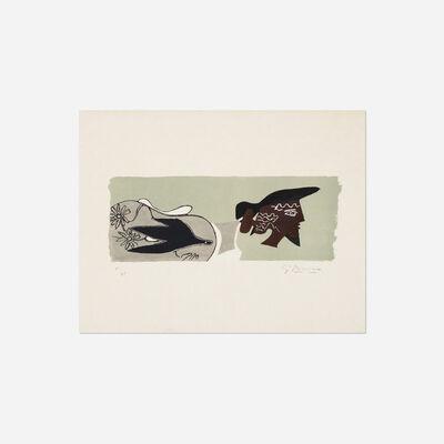 Georges Braque, 'Le Poete from Cinq Poesies en Hommage a Georges Braque', 1958