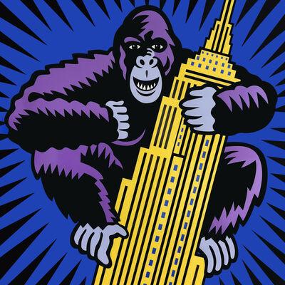Burton Morris, 'King Kong', 2018