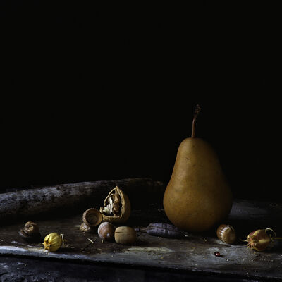 Paul Cary Goldberg, 'Still Life with Bosc Pear'