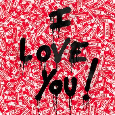 Mr. Brainwash, 'I Love You!', 2019