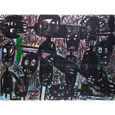 Aboudia, 'Untitled', 2015