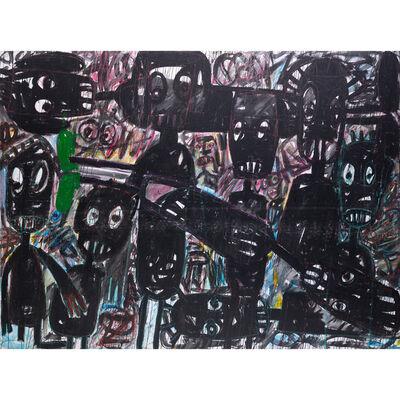 Aboudia Abdoulaye Diarrassouba, 'Untitled', 2015