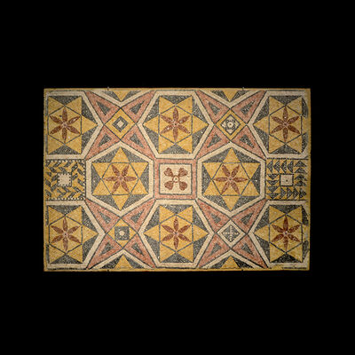 Unknown Roman, 'Roman-Byzantine Mosaic Panel', 300 AD to 600 AD