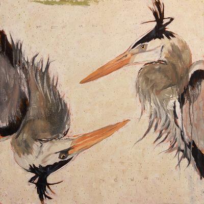Michael Dickter, 'Heron, Heron', 2017