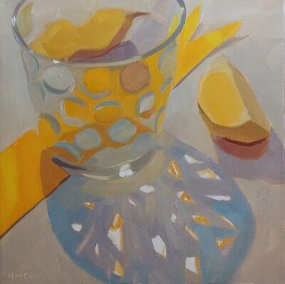 Yuri Tayshete, 'Yellow Bobble Glass', 2019