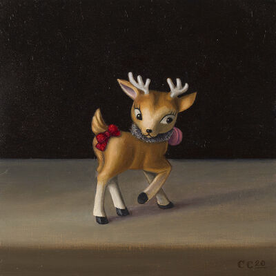 Christopher Clamp, 'HOLIDAY DEER 2', 2020