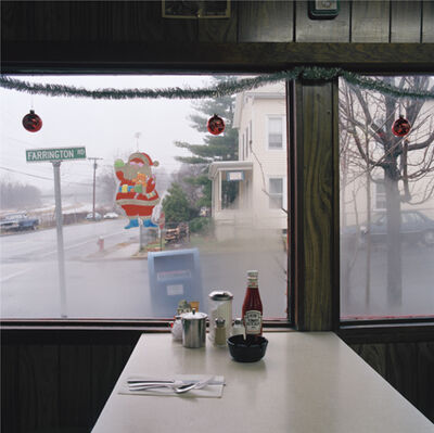Jeff Brouws, 'Catsup bottle/dinner, Croton-on-hudson', 1990