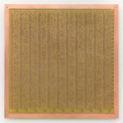 Philipp Goldbach, 'Read Only Memory (Richard West for John Wilkins 'Mercury: or the Secret and Swift Messenger')', 2014
