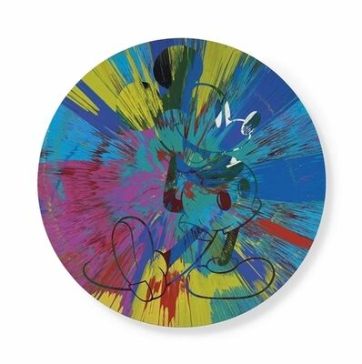 Damien Hirst, 'Beautiful Mickey Mouse Painting'