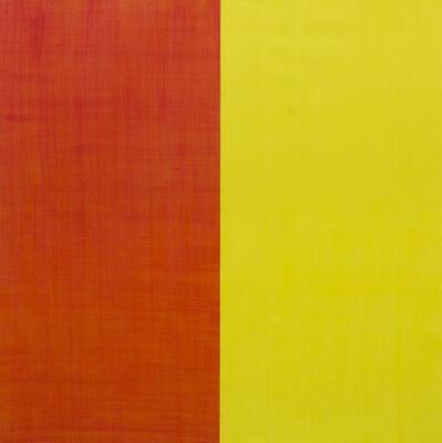 Juan José Cambre, 'Rojo~Naranja sobre Amarillo', 2019