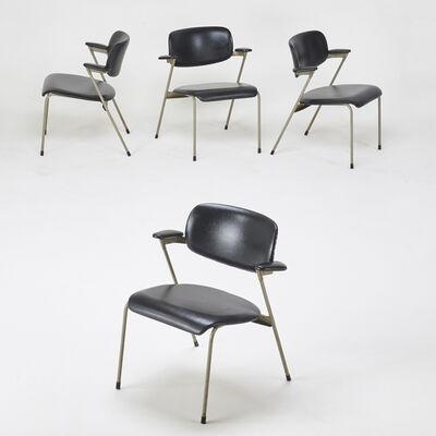 "Willy Van Der Meeren, 'Group of four ""Tubax"" chairs', 1969"